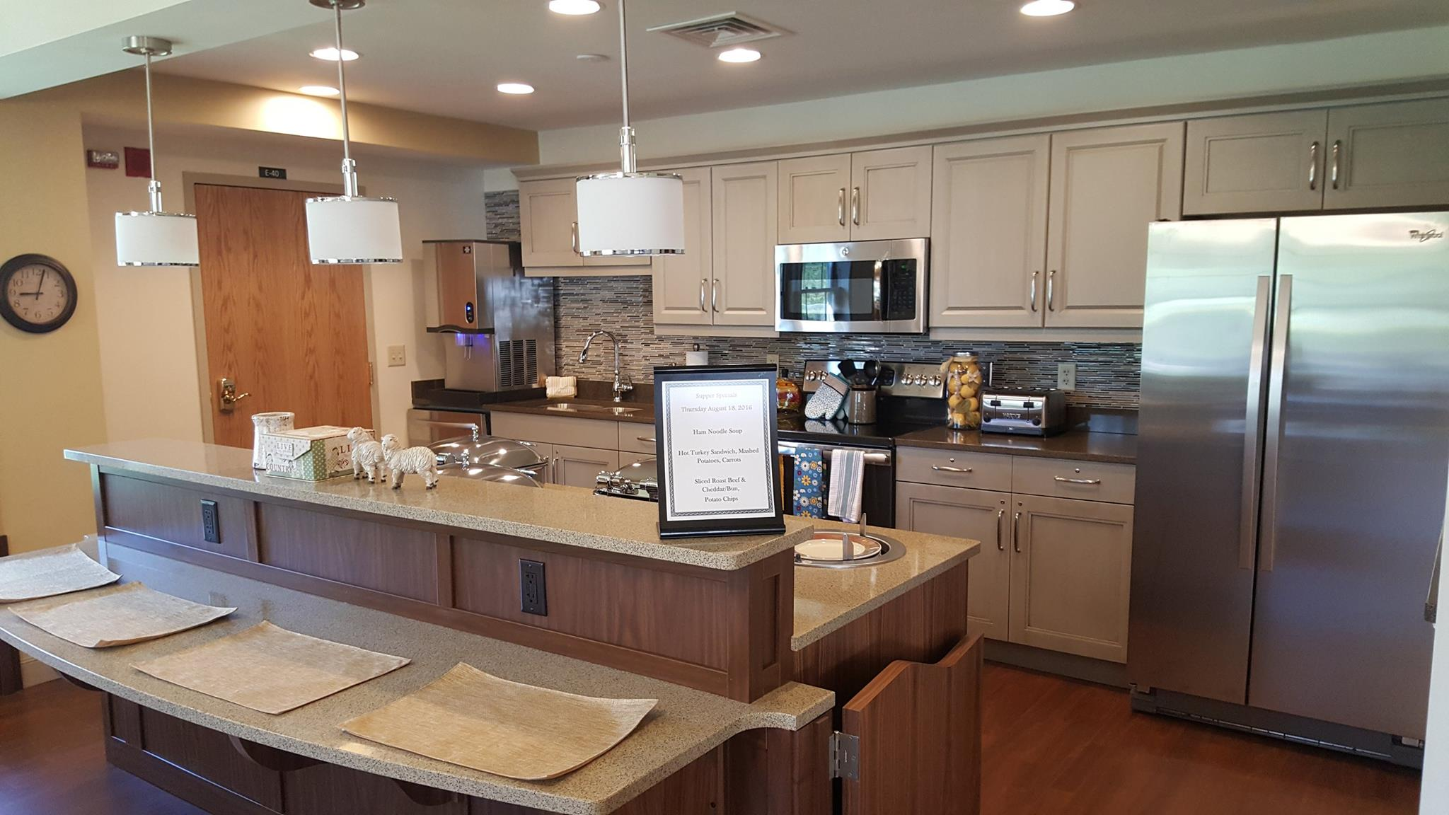 Personal Care Open House Kitchen Jpg Homewood At Plum Creek