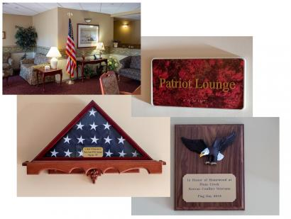 Patriot Lounge Dedication Plum Creek