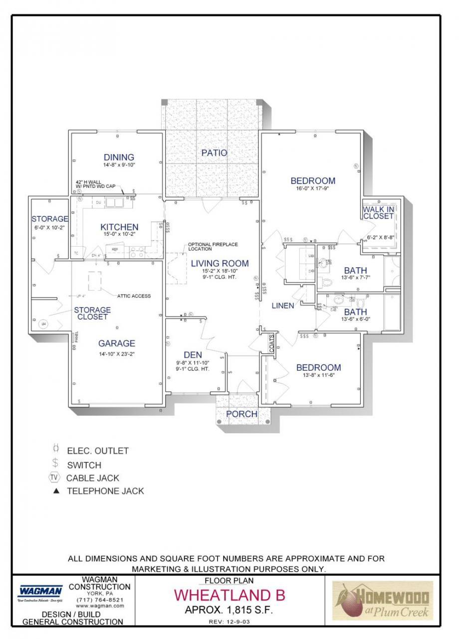 Wheatland B Floorplan